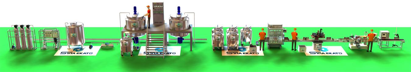 Lotion Production Line-1350