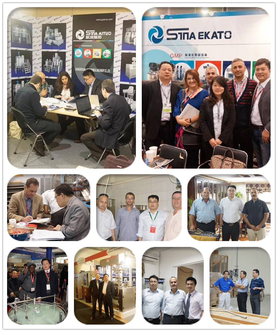 2014 exhibition arrangement both at China and Foreign of SinaEkato