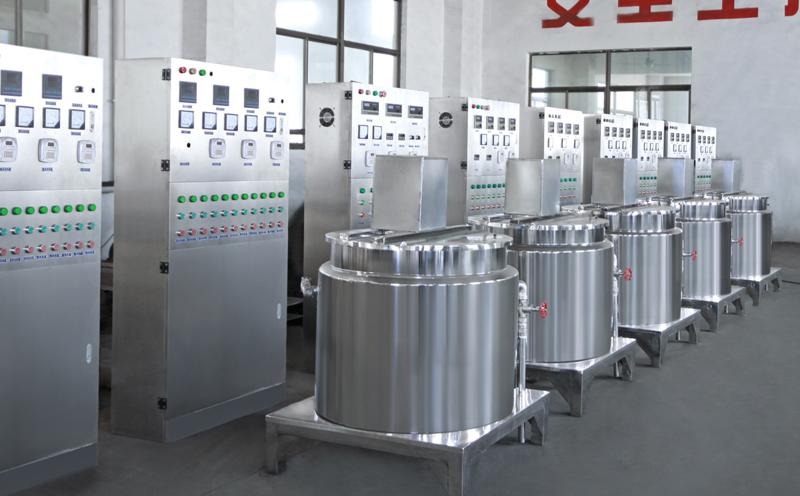 Cosmetic equipment -- Vacuum homogenizing emulsifying machine