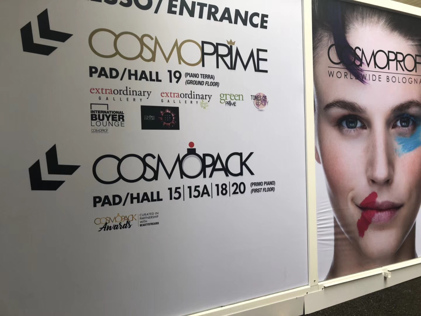 【SINAEKATO】 Cosmoprof In Bologna is perfect. We'll see you in the next exhibition!
