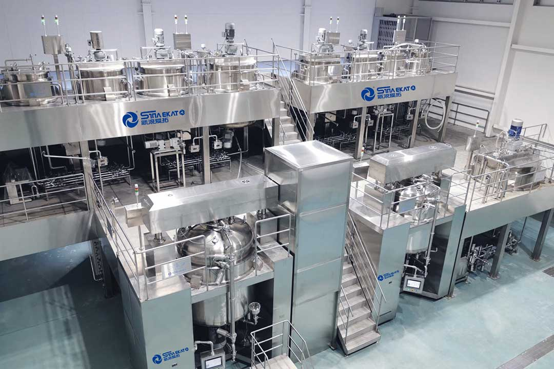 toothpaste production line project